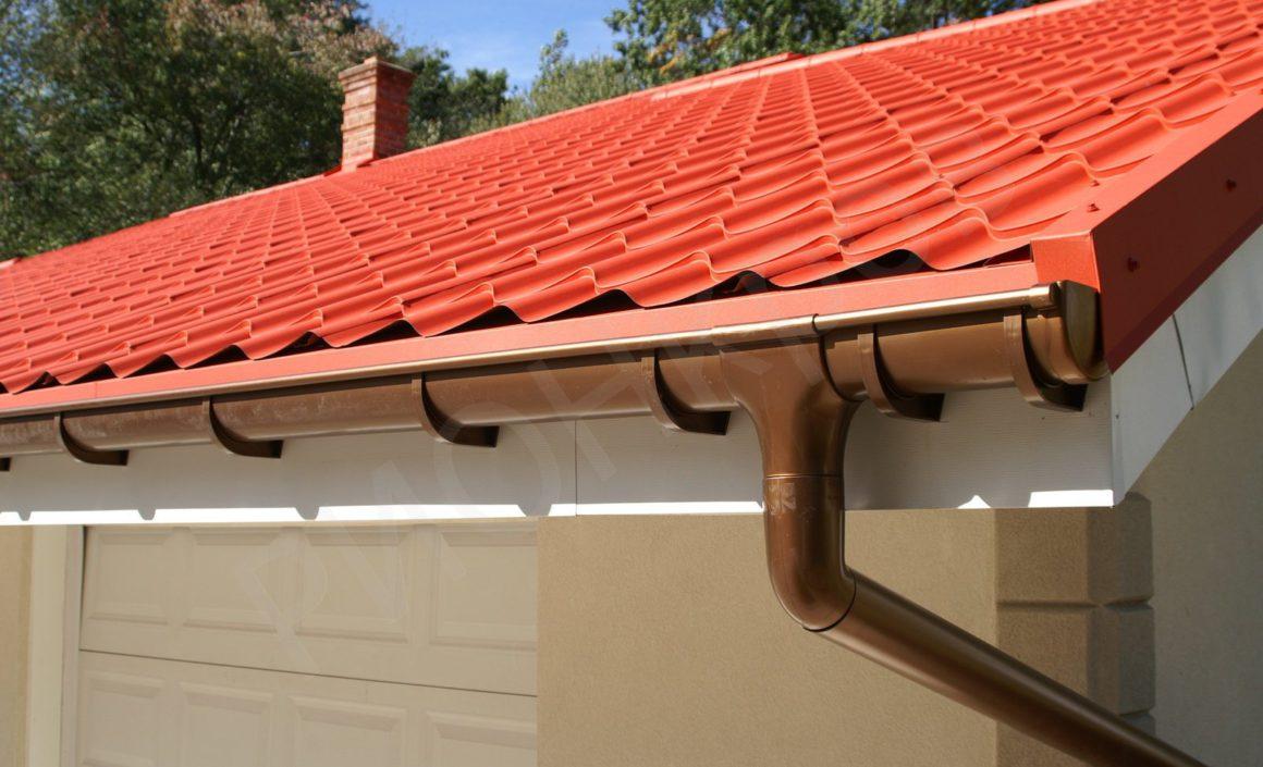 Как сделать слив с крыши своими руками